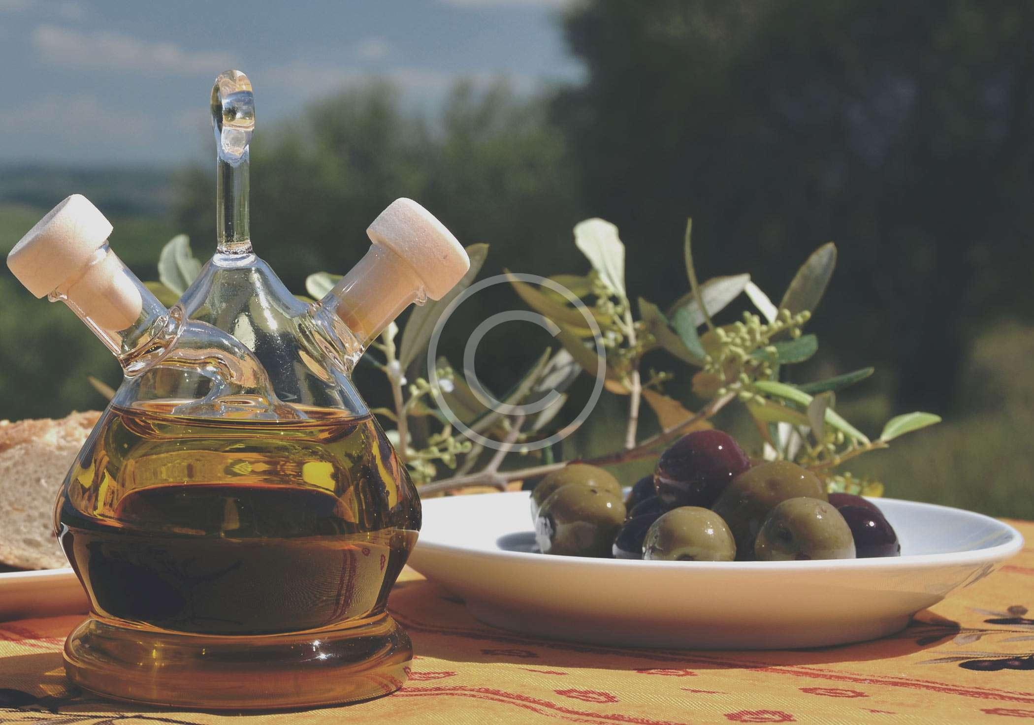 masques de beauté à l'huile d'olive