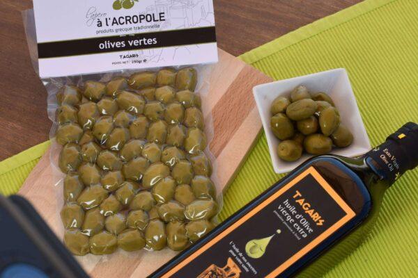 olives moulin tagaris vertes